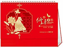 Leaixiang Chinese Desk Calendars 2021 Busy