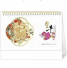 Leaixiang Chinese Desk Top Calendar 2021 Big
