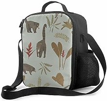 Leak-Proof Lunch Bag Tote Bag, Coati Fest Cooler