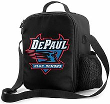 Leak-Proof Lunch Bag Tote Bag, DePaul University