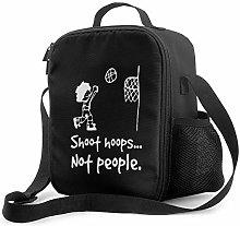 Leak-Proof Lunch Bag Tote Bag, Shoot Hoops not