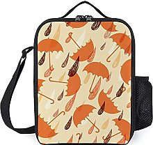Leakproof Insulated Cooler Bag Reusable Lunch Box