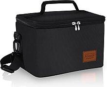 Leakproof Lunch Bag for Men Large Cooler Bag 10L