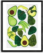 Leanne Simpson - 'Avocados' Framed Print,