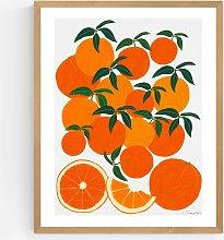 Leanne Simpson - 'Orange Harvest' Framed