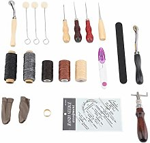 Leather Craft Tool Set Lightweight Durable in Use