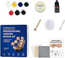 Leather Recoloring Gel,Leather Repair Kit,