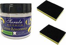 Leather Repair Cream with 2X Sponge, Leather