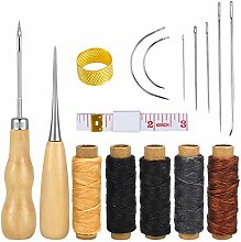 Leather Repair Kit 16pcs Upholstery Working Tools