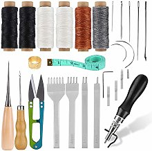 Leather Sewing Tools Kit, Upholstery Repair Kit,