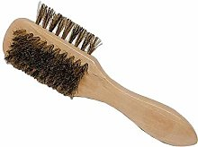 Leather Shoe Brush, Soft Hair Brush, Horsehair