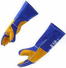 Leather Welding Gloves, Rapicca Heat Resistant BBQ