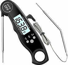 Leave In Oven Meat Thermometer, DOMAVER Updated