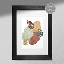 Leaves & Colours - Wall Art   Abstract Art  