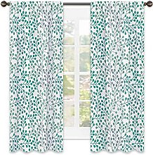 Leaves Heat insulation curtain ,Flowering Branches