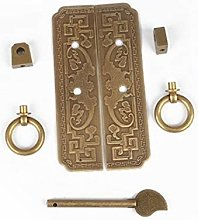 Lebeaut Copper Door Knobs Vintage Antique Round