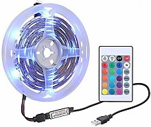 Lechnical DC5V 6W 1M 60 LEDs RGB Strip Light with