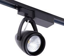 LED 12W Black Track light Tracking Rail Lamp Shop