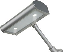 LED 2 Light Sign Light Silver IP44 - Firstlight