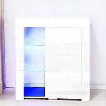 LED 3 layer display cabinet modern fashion