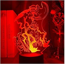 Led 3d Table Lamp Japanese Animation One Trafalgar