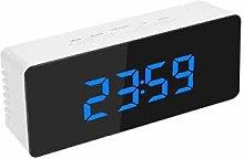 LED Alarm Clock, Mirror LED Alarm Clock Table