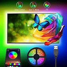 LED Backlight TV Light Strip 5M USB RGB LED Light