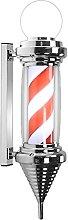 LED Barbers Pole Barber Shop Pole Globe Top Barber