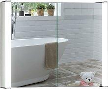 LED Bathroom Mirror Cabinet 65cm(H) x 80cm(W) x