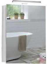 LED Bathroom Mirror Cabinet 70cm(H) x 50cm(W) x
