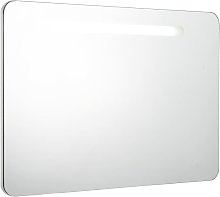 LED Bathroom Mirror Cabinet 80x11x55 cm