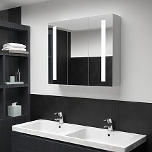 LED Bathroom Mirror Cabinet 89x14x62 cm VD25421 -