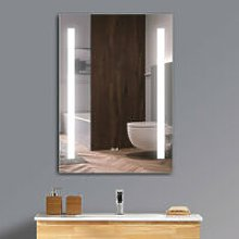 LED Bathroom Mirror Cabinet With Shelf, Shaver
