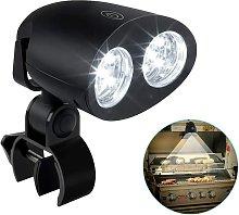 LED BBQ Lights, 360 Degree Rotation Adjustable 10