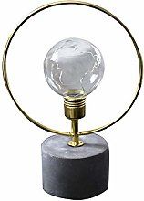 LED Bedside Lamp Battery Operated Wrought Iron