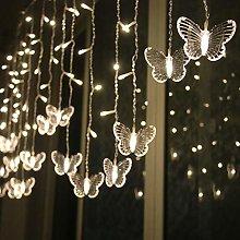 LED Butterfly String Light,TriLance 300 LED 8