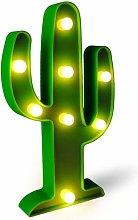 LED Cactus Light, Fiesta Decorations Light, Cute