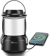 LED Camping Lantern, Dimmable LED Outdoor Light, 3