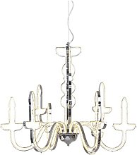 LED Candle-Style Chandelier Willa Arlo Interiors