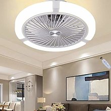 LED Ceiling Fan with Lamp Dimmable Fan Ceiling