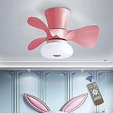 LED ceiling fan with lamp Modern invisible fan