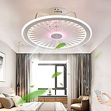 LED Ceiling Fan with Lighting 40W Dimmable with