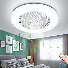 LED Ceiling Fan with Lighting 72W Fan Light