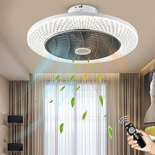 LED Ceiling Fan with Lighting, Dimming with Remote