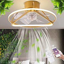 LED Ceiling Fan with Lighting Modern Ceiling Light