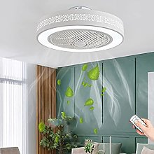 LED Ceiling Fan with Lighting Wind Speed Dimmable