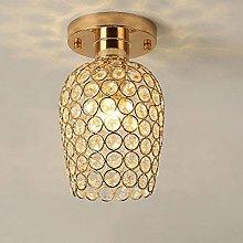 LED Ceiling Lamp Crystal Interior Light Bedroom