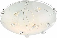 LED Ceiling Light, Acrylic Simple Chandelier,