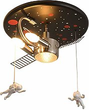 LED Ceiling Light Astronaut Spaceman Metal Ceiling