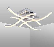 LED Ceiling Light, Elegant Curved Design Ceiling